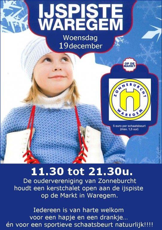 KERSTCHALET oudervereniging @ Ijspiste | Waregem | Vlaanderen | België