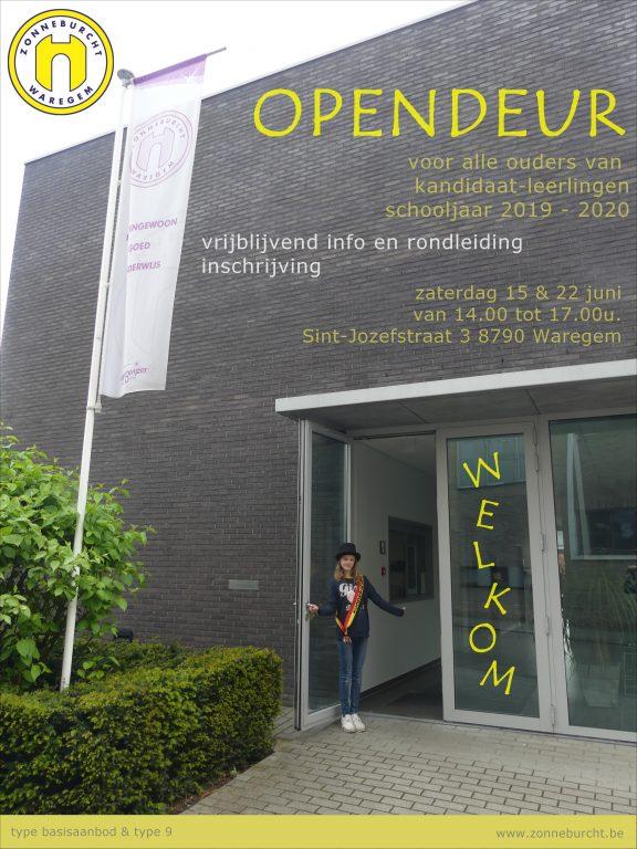 OPENDEUR @ B.O. Zonneburcht | Waregem | Vlaanderen | België